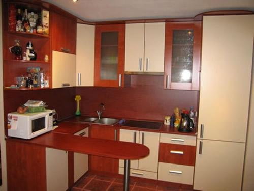 Как обставить кухонный гарнитур