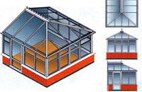 Как сделать трехскатную крышу своими руками видео